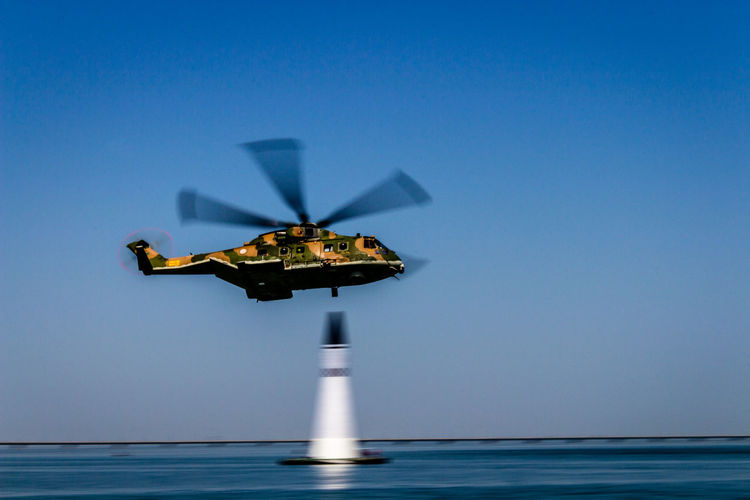 Aircraft Airshow EH101 Helicopter Lisbon No People Portugal Selective Focus
