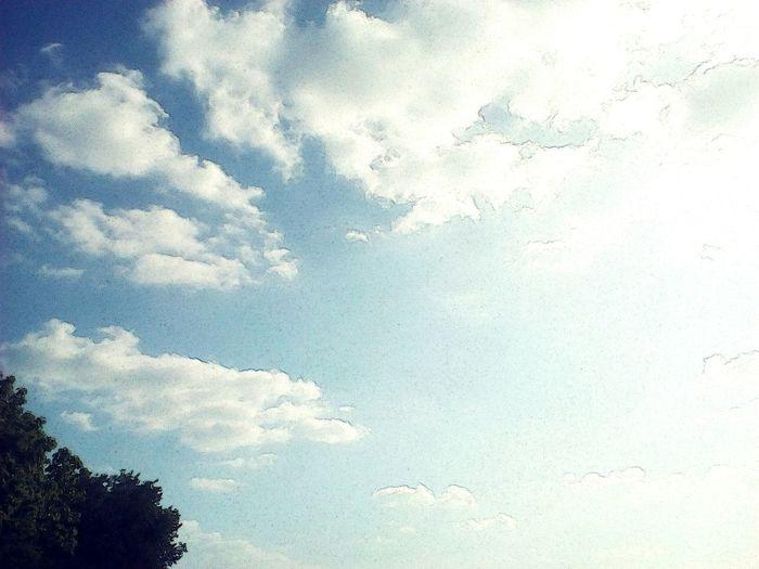 เก็บตก เมฆสีคราม First Eyeem Photo