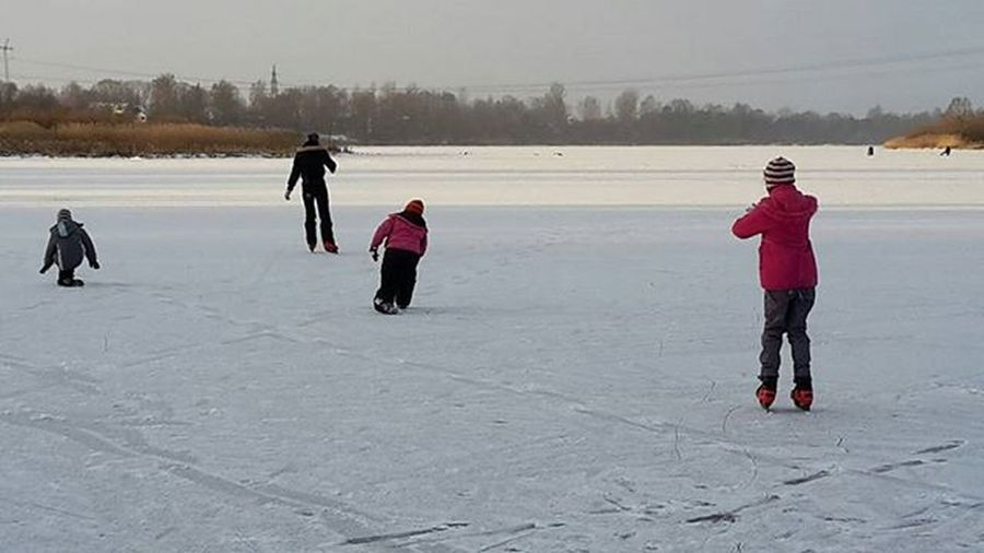 We skate on the river Daugava 😊❄👍 Skating Iceskating IceskateIce Daugava Kekava Odukalns Latvija Latvia River Winter Winterjoy Outdoors It's Cold Outside Showcase:January White Album Things I Like Photography In Motion
