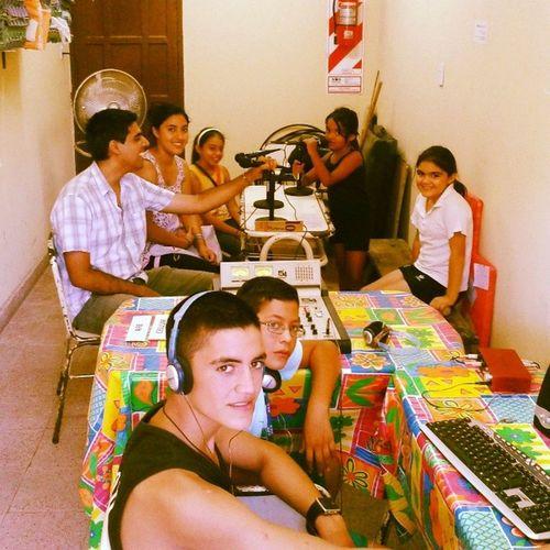 """LOS AMO!!! """"Somos Radio CAJ"""" - Emem Viclos ElMojon Radio Escuela CAJ Tucuman Argentina"""