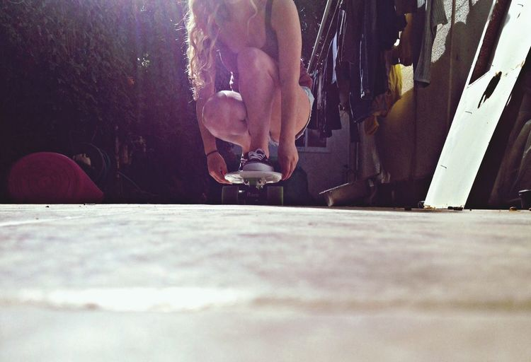 SkateBlonde  Amazing