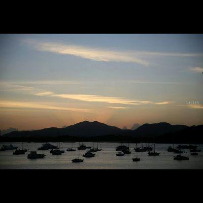 Landscape Panamá Sunset Sea