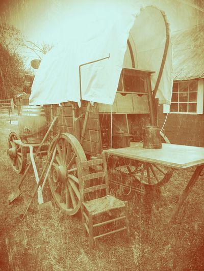 Old chuck wagon authentic western chuckwagon
