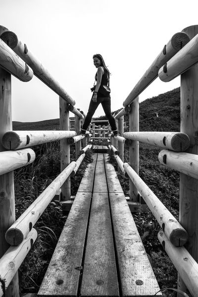 Upload 3000!! Lightning visit Hiking is the thing to do on Rebun Island. The island is steeped in history and nature. We went higher and higher. The temperature dropped as clouds drifted in. This would have to be a lightning visit. Copy Space Hiking Japan Path Perspective Rebun Island Woman Black And White Clear Sky Day Full Length Girl Island Jungle Gym One Person Outdoor Play Equipment Outdoors People Photography Real People Sky Connected By Travel Be. Ready. The Traveler - 2018 EyeEm Awards Summer Road Tripping