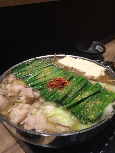 Food Enjoying A Meal もつ鍋 Japanese Food