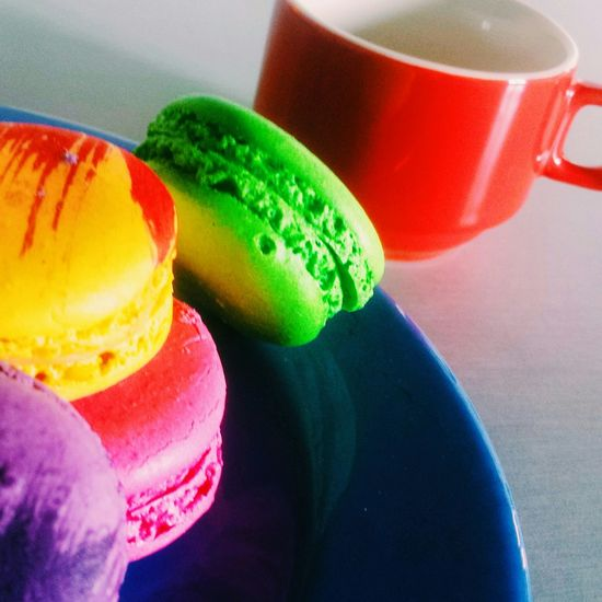 Coffee And Sweets Coffee Cafe Macarons Macaroons Beautiful Photography EyeEm Best Shots Laffond On The Table