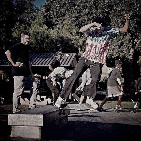 Soap Squad Skateboarding Grindin Skatepark