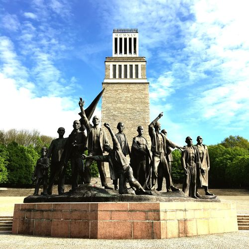 """Freedom"" Weimar Freedom Buchenwald Memorial Statue Human Representation History Built Structure Outdoors Hopfgarten Mahnmal"