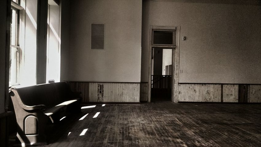 Abandoned Buildings Abondoned Absence Chair Day Empty Empty Room Forgotten Furniture Into The Past Lonely No People Seat The Past Abandoned Places Light Through The Window