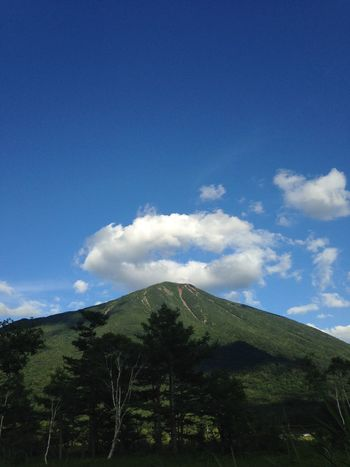 男体山 Clouds And Sky Mountains And Sky Mountain Nature Photography Enjoying Life