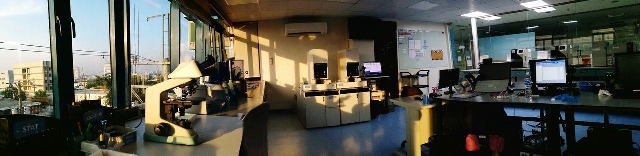 EyeEm Selects Lab Labworks Medtek Medicaltechnologist Laboratory Scientist Indoors  Sunset Closing Time