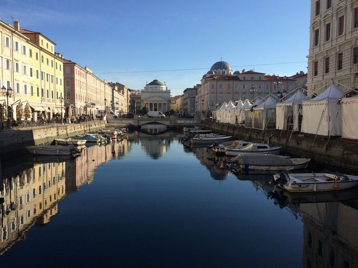 Trieste, Italy Trieste Ltaly Water Architecture Europe Europe Trip City Reflection Canal Travel Destinations First Eyeem Photo