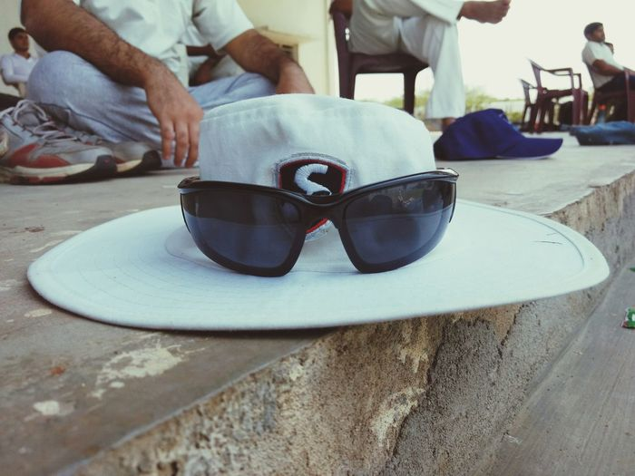 Vacations Relaxation Leisure Activity Mature Adult One Man Only Travel Destinations Rubber One Person Adult People Beach Close-up Men Outdoors Day Water Adults Only Human Body Part Only Men Cricket! Cap Googles Shades