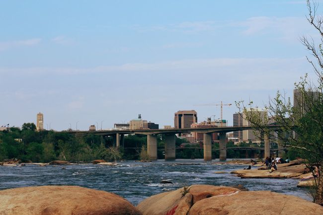 Architecture Built Structure Bridge - Man Made Structure Water Outdoors Day Tree Nature Connection Sky No People River Tranquility Scenics Belle Isle RVA Landscape The Secret Spaces