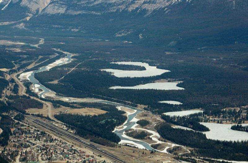 Canadian Adventure Aerial View Architecture Beauty In Nature City Curve Day Environment High Angle View Land Landscape Mountain Nature No People Outdoors River Road Scenics - Nature Tranquility Transportation Water