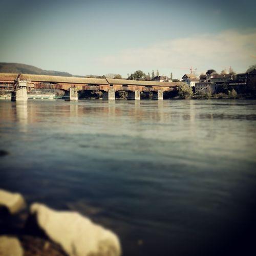 Bad Saeckingen River Rhine Tiltshift Bridgeporn