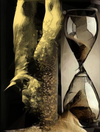 Belleza efimera Artwork By Me Edited By Me Emotions Clock
