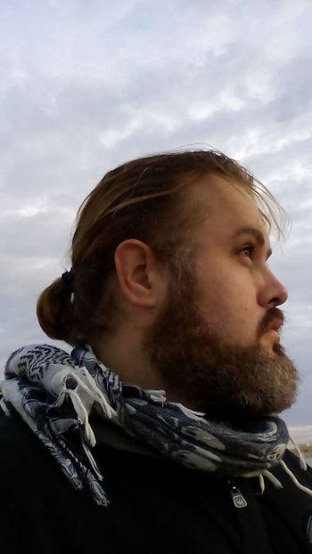 One Person Headshot Portrait Sky Warm Clothing Only Men Men Beardlife Barba Beards Bearded Beard