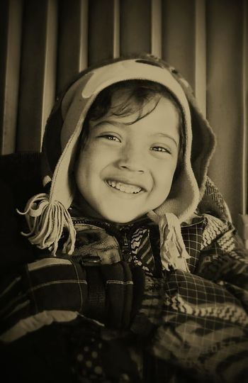 One of my treasures, thank you for make me smile so easily my beloved son. Smiling Happiness One Person Close-up Winter on the bus