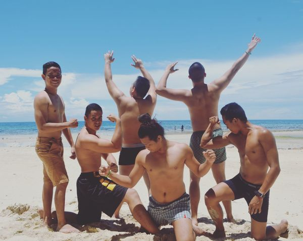 Philippines YOLO ✌ Beach Enjoying Life Friendship Friends Barkada Living Life Beach Life Lifestyles Attitude Sea And Sky Sea Life