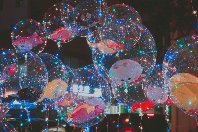 Celebration Night Illuminated Christmas Christmas Decoration Multi Colored Tradition