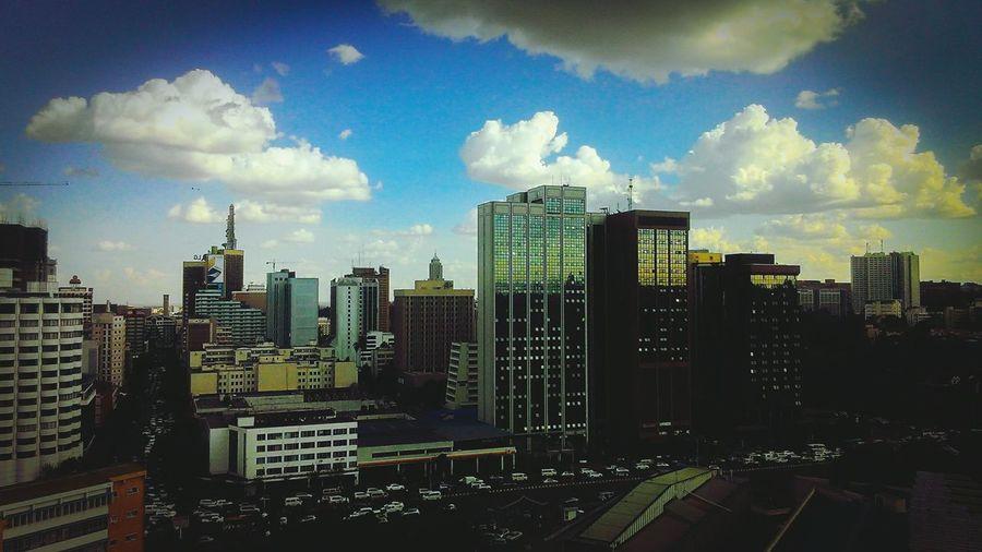 Nairobi Urban Towers Skyline