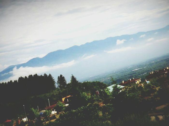 A Bird's Eye View DüzceTURKEY Mountain Cloud - Sky Cloud Mountain Range Green Color Nature High Angle View