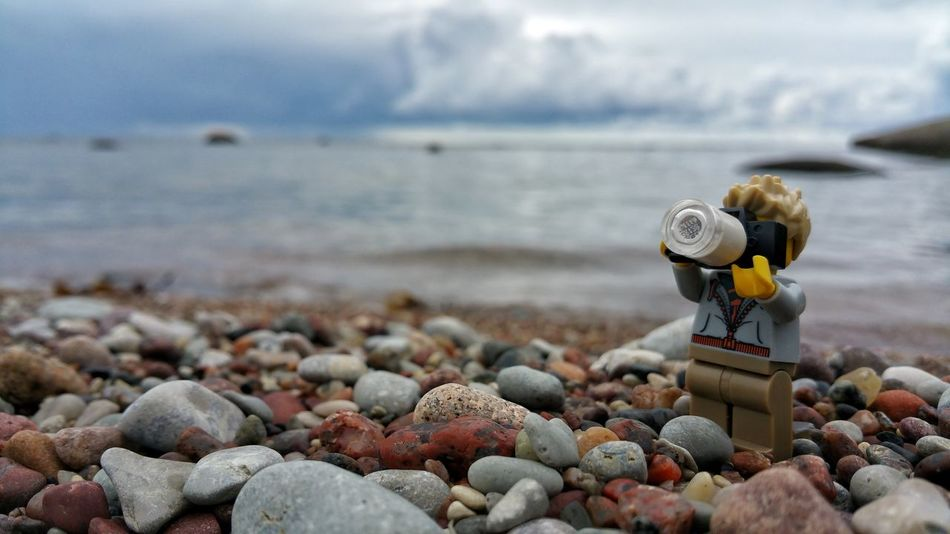 Beach Sea Pebble No People Day Water Outdoors Nature Close-up Pebble Beach Sky Toyphotography