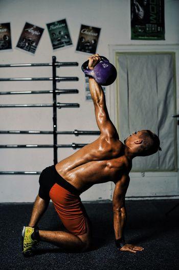 Crossfit Dedication Exercise Kettlebell  Muscles Nopainnogain Reebok Sport Training Workout Gym Fitness