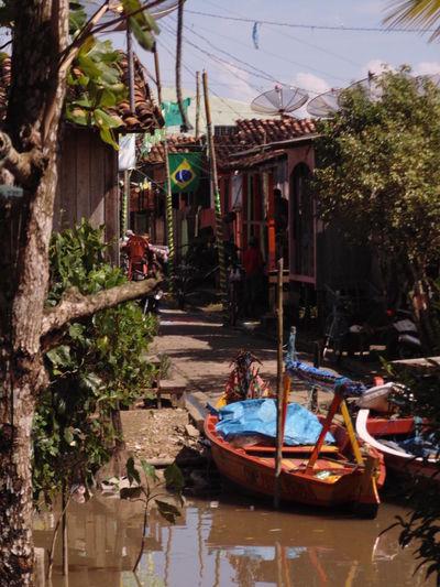 Amazon Boat Built Structure City Fisherman Fishing Fishing Boat Water