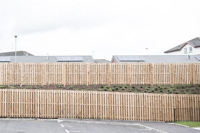 Fences of Glasgow. (3) 35mm Cityscape Clouds Europe Fence Fences Fujifilm Fujinon Germany Glasgow  Grey Houses No People Outdoors Scotland Suburban Suburbia Travel Travel Photography Tristesse Uk United Kingdom Urban Urban Photography X-T10