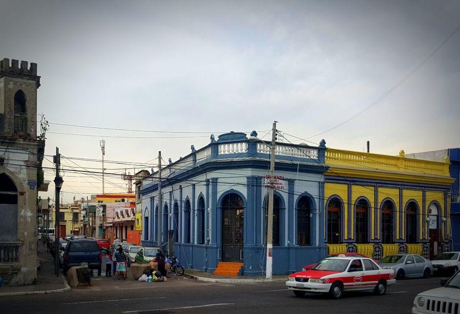 Facade Veracruz Mexique memory