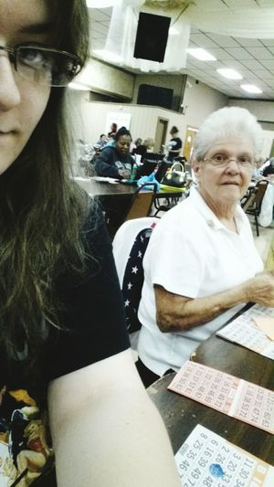 Bingo with granny! Hanging Out Check This Out Taking Photos Im Old