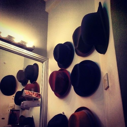 Time for a Nightout ....now, which Hat ?? Gentleman  issues.. Keepingitclassy