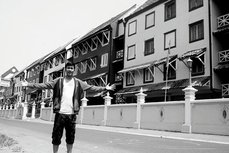 Enjoying Life Hanging Out Relaxing EyeEm Indonesia OpenEdit Blackandwhite Blackandwhite Photography EyeEm Best Shots - Black + White Black And White Street Photography NEM Black&white