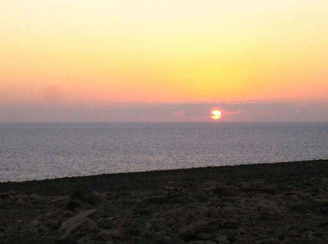 Sunset in Fuerteventura Fuerteventura Sky Sunset Sea