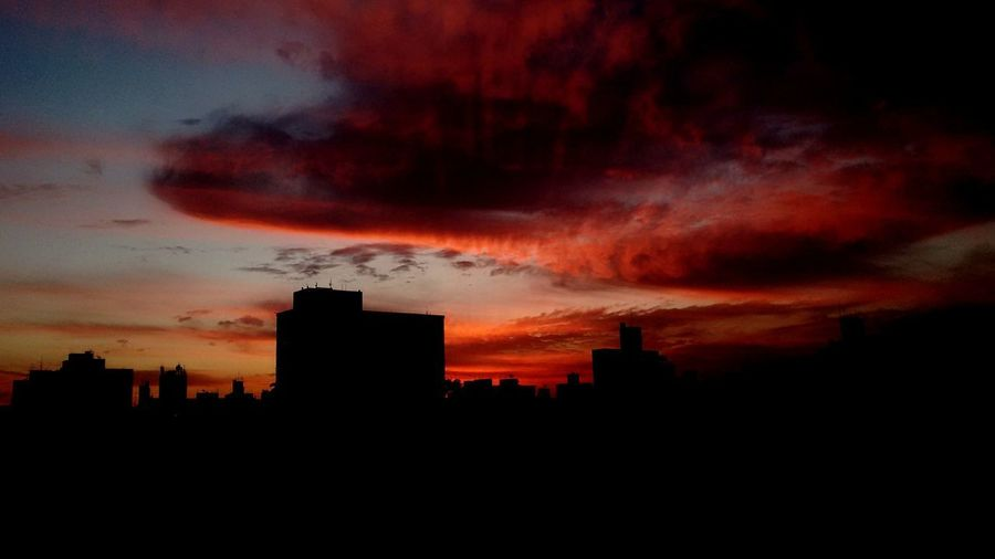 Sunset Dramatic Sky Urban Skyline Cityscape Sky Architecture No People Scenics Outdoors City Cloud - Sky Sky Colours Orange Clouds Orange Clouds Sunset EyeEmNewHere Lost In The Landscape