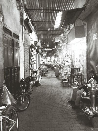 souk n'has Photography Blackandwhite Marrakech Art
