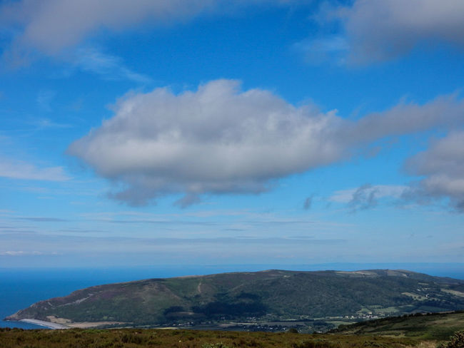 Cloud - Sky Landscape Blue Beach Outdoors Beauty Sea Water Sky Rural Scene No People Hill Beauty In Nature Nature Scenics Day Nikonphotography Beauty In Nature