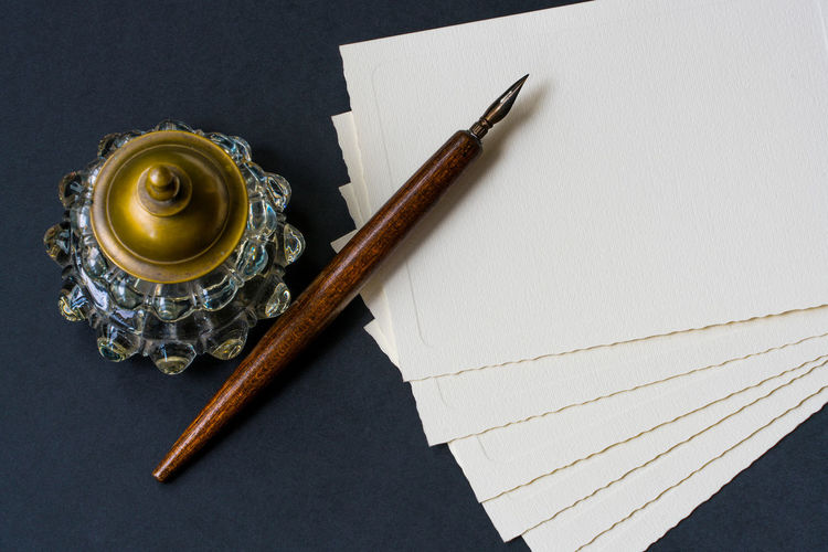 Vintage background with old fountain pen, inkwell, papers Antique EyeEmNewHere Fountain Past Write Writing Antique Close-up Directly Above Envelope Handwriting  High Angle View Ink Ink Well Ink-bottle Inkwell Literature Manuscript No People Old-fashioned Paper Pen Still Life Table Vintage
