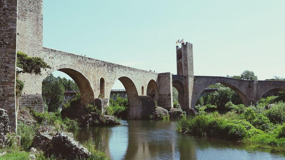Architecture River Water Wasser Brücke Bridge Fluss Water Reflections Wasserreflektion Betterlandscapes