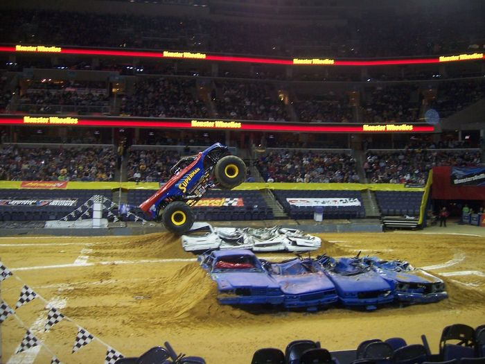 Monster Truck Show Crush Monster Trucks Sport Sports Venue Stadium Truck
