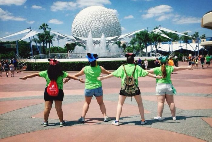 Epcot Disney Friends Fun