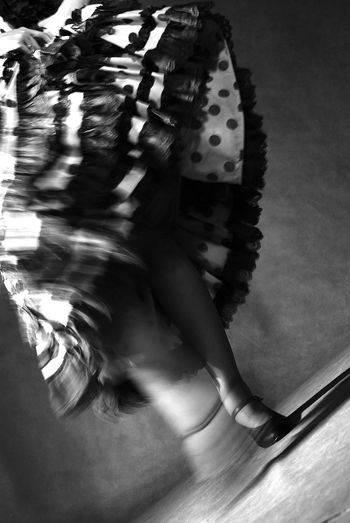 #blurred #dance #Dress #flamenco Day Indoors  One Person Real People Women Young Adult Young Women