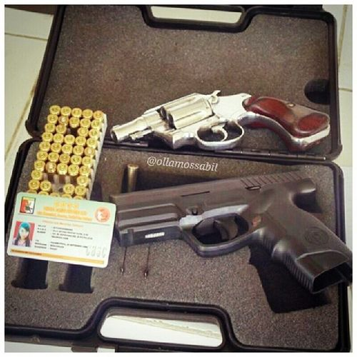 my KTA with Revolver Coltdetective and Steyr gun … … unit punya temennn ヽ(^。^)ノ… …