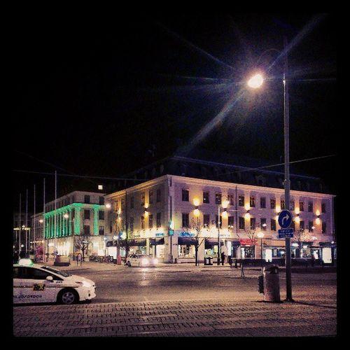 Heading home after salsa Kungsportsplatsen Gothenburg