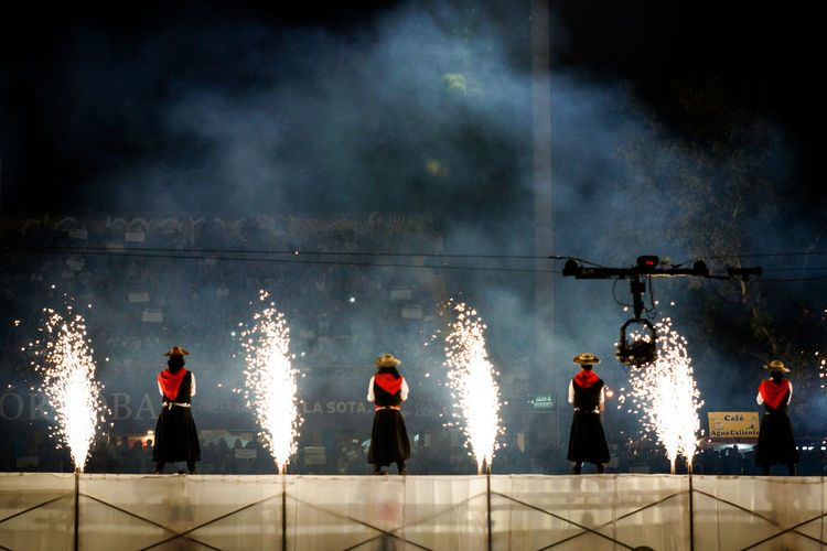 Fireworks at the opening of the Festival of Taming and Folklore of Jesus Maria, Argentina on January 8, 2015 The Photojournalist - 2015 EyeEm Awards