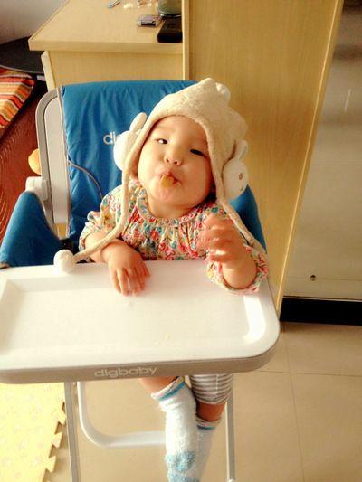Mongolianbaby Baby ❤ Angel Peace Taking Photos Cheese! Enjoying Life Mongolian Girl Home Sweet Home ♥ Goog Morning World!:*