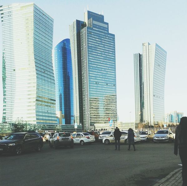 Amazing Architecture Building Skyscrapers Astana City Astana City Relaxing