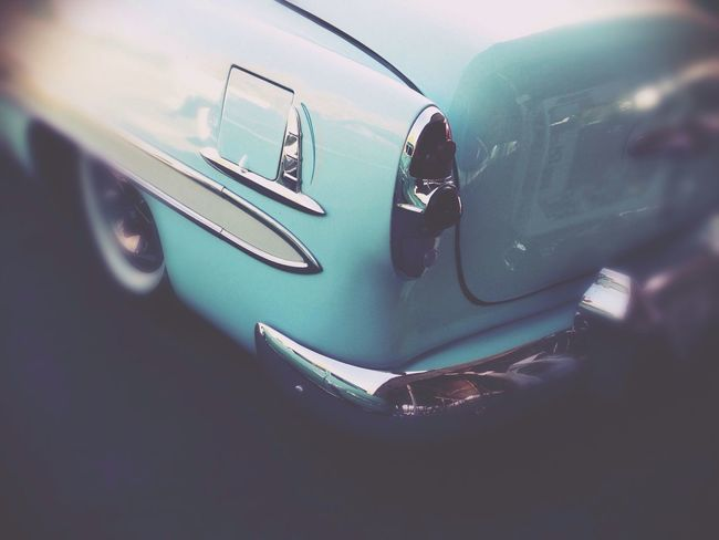 Baby Blue Tail Light Classic Car Car IPhoneography Hollingsworth